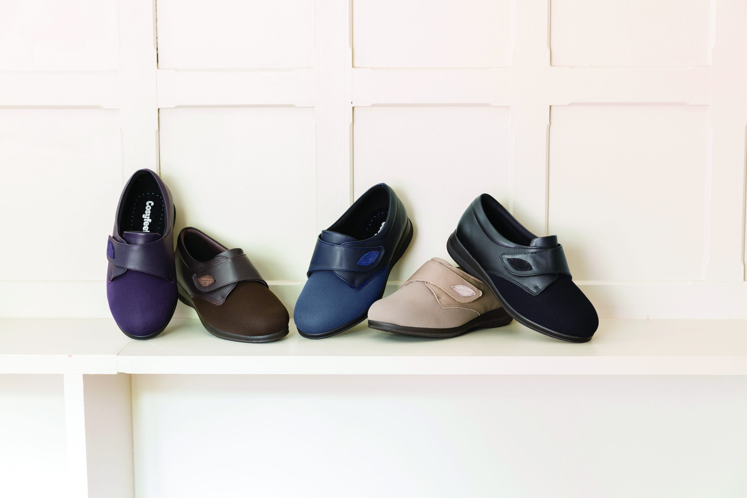 Cosyfeet wide fitting comfort footwear