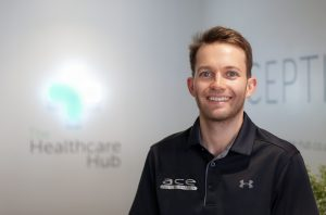 Phot of Ash from Ace Feet In Motion in The Healthcare Hub