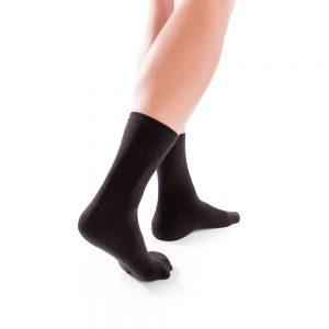 Orlivan Diabetic Sock Pair in Black