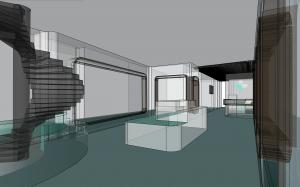 The Healthcare Hub Interior Concept Image