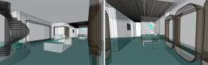 The Healthcare Hub Interior Concept Model Photos